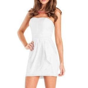 Guess by Marciano Strapless Mini-Dress